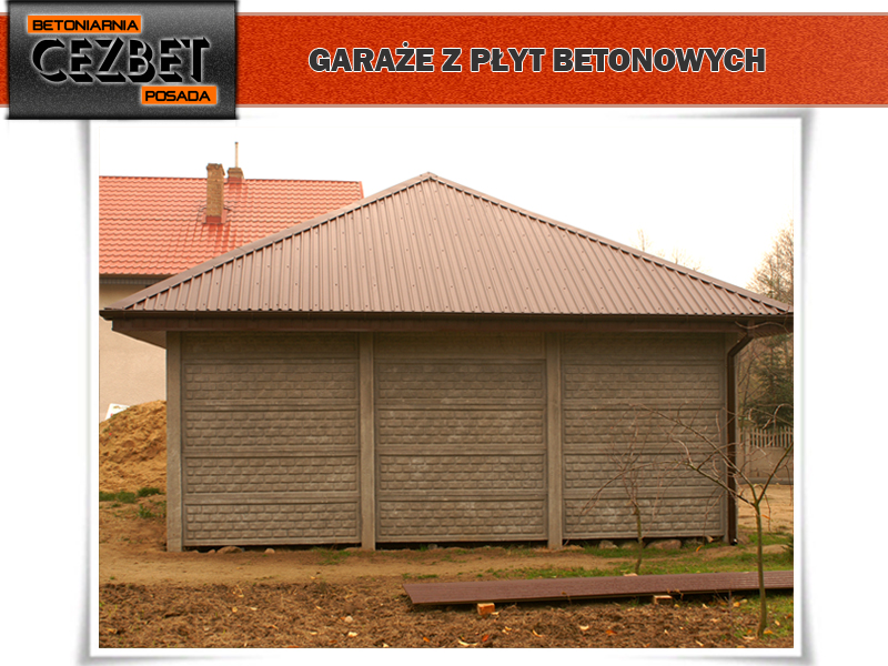 Galeria Garaży Betonowych Kompleksowo Wykonanych Z Płyt Cezbet